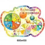 """Стенд """"Календарь природы"""" КС 0141"""