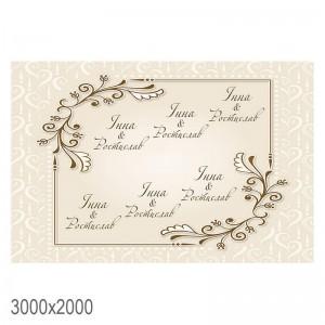 Баннер на свадьбу -    Свадебный баннер