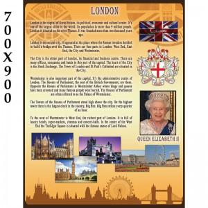 """Стенд для кабінету англійської мови """"Лондон"""" -    Стенди в кабінет англійської мови"""