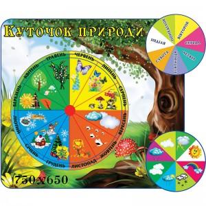 Уголок природы КС 1000 -    Уголок природы в детском саду
