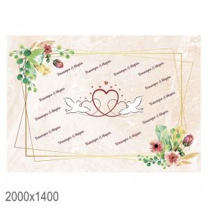 Баннер на свадьбу для фотосессии -    Свадебный баннер