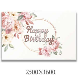 """Баннер """"С днем рождения конфетки""""  -    Баннер на день рождения"""