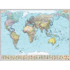 Политическая карта мира 216х158 -    Карты мира