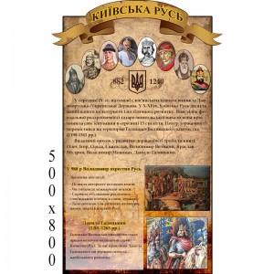 """Стенд """"История"""" КС 0125 -    Стенды в кабинет истории"""