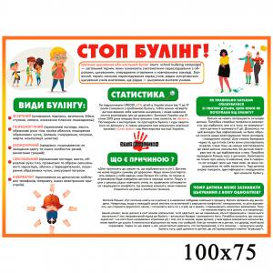 Стенд  стоп булінг -    Інформаційні стенди