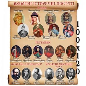 """Стенд """"Выдающиеся исторические фигуры"""" -    Стенды в кабинет истории"""