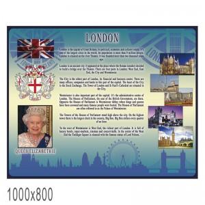 """Плакат в кабинет английского языка """"Лондон"""" -    Плакаты для кабинета английского языка"""