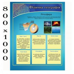 """Плакат по географии """"Литосфера"""" -    Плакаты для кабинета географии"""