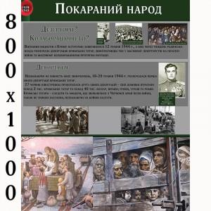 """Плакат з історії """"Покарані"""" -    Плакати для кабінету історії"""