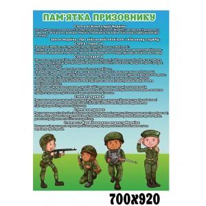 Уголок призывника в школе -    Стенды защита отечества