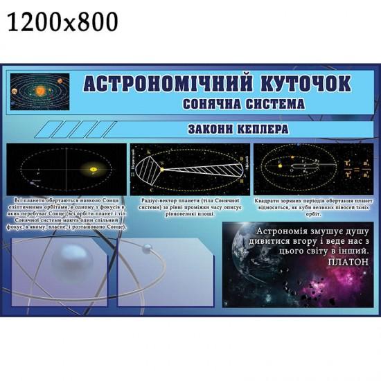 Стенд Астрономічний куточок