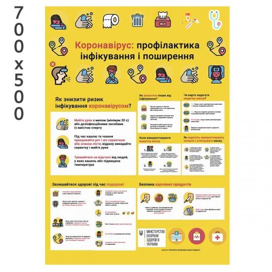 Інформаційний стенд для лікарні