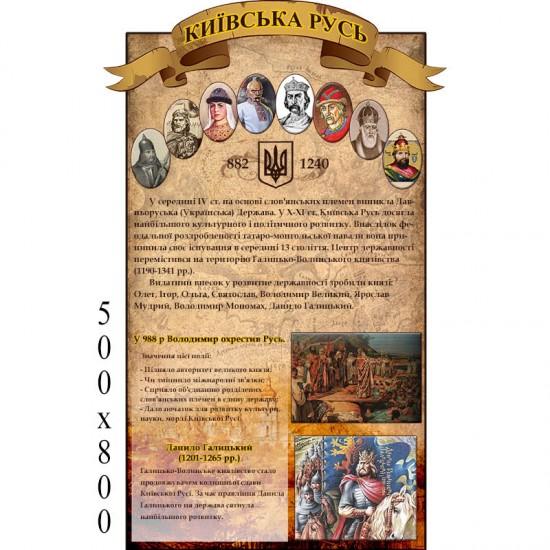 """Стенд """"История"""" КС 0125"""