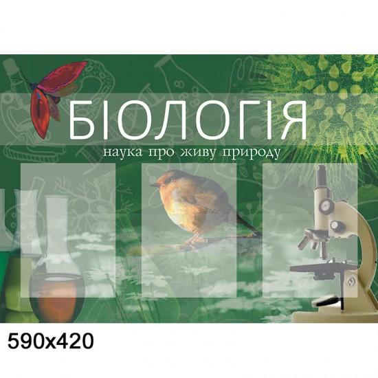 Стенд Біологія КС 0015