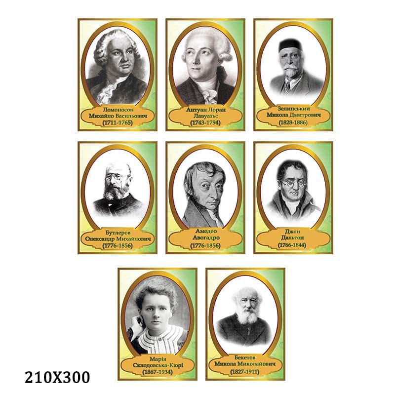 Портреты химиков