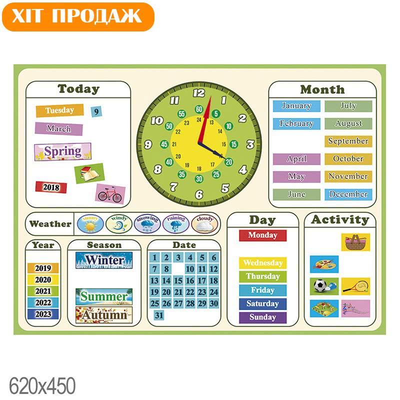 Магнітний календар НУШ