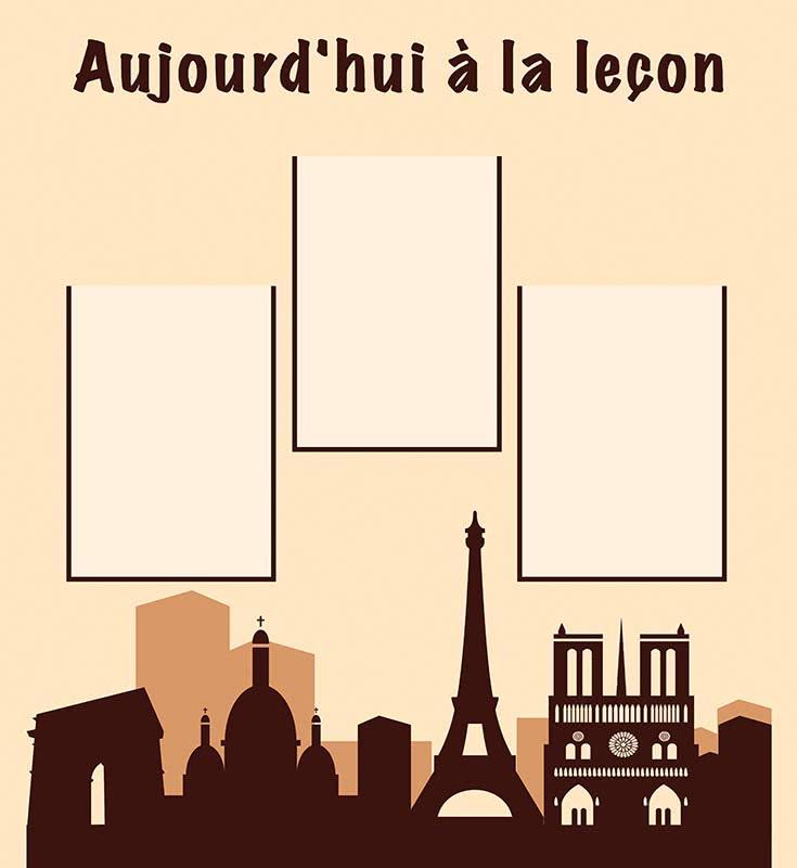 стенди з французької мови
